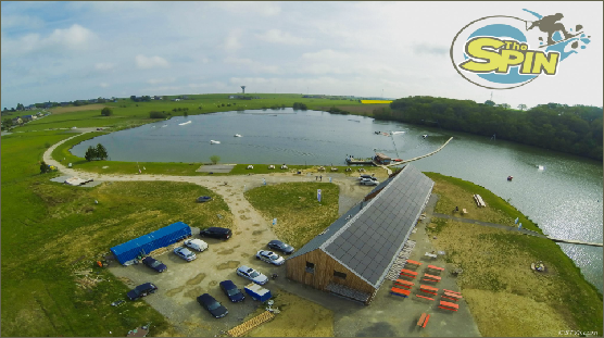 photo of the spin cable park in belgium by Steve Marqué